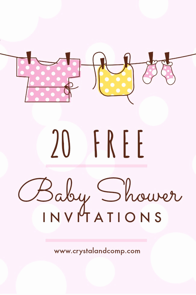 Free Printable Baby Shower Card Inspirational Printable Baby Shower Invitations
