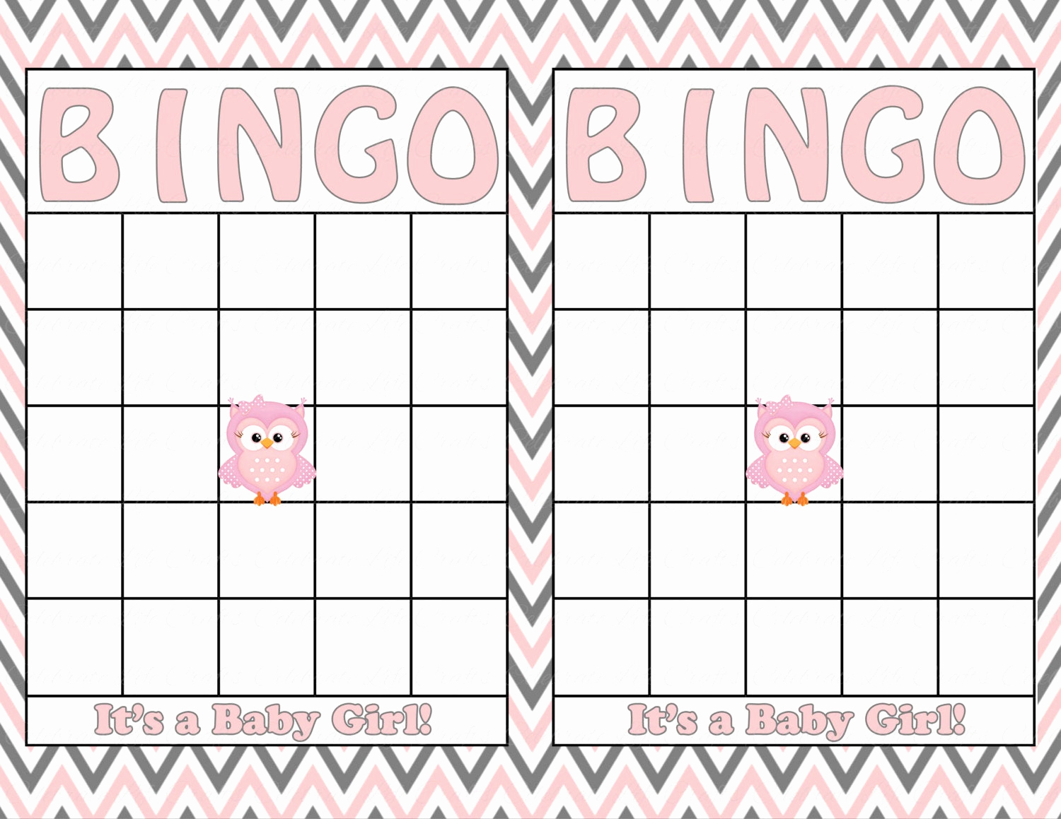 Free Printable Baby Shower Card Lovely Blank Baby Shower Bingo Cards Printable by Celebratelifecrafts
