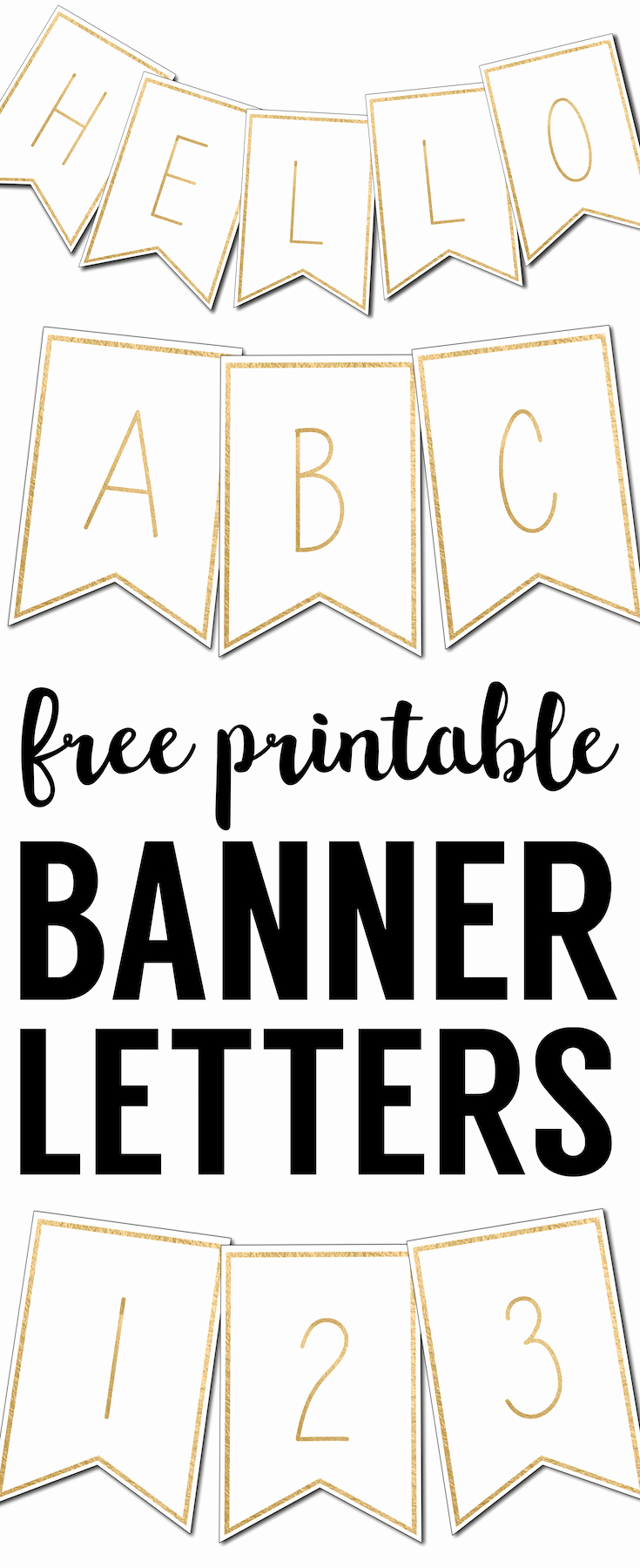 Free Printable Banner Letters Lovely Free Printable Banner Letters Templates Paper Trail Design