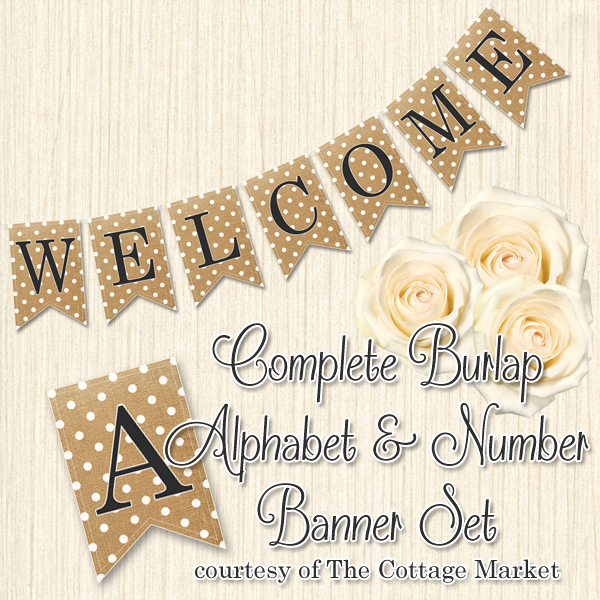 Free Printable Banner Letters Luxury Free Printabe Plete Alphabet and Number Burlap Banner
