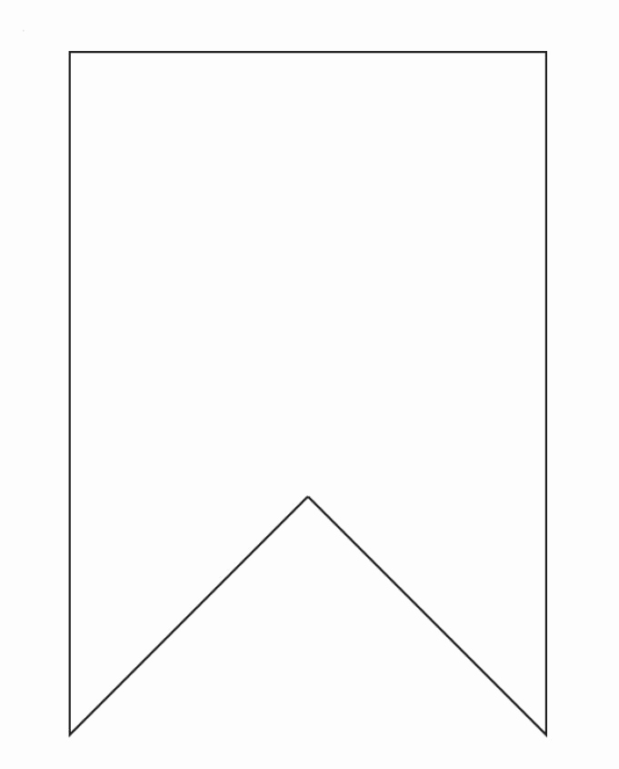 Free Printable Banner Templates Awesome Bunting Template On Pinterest