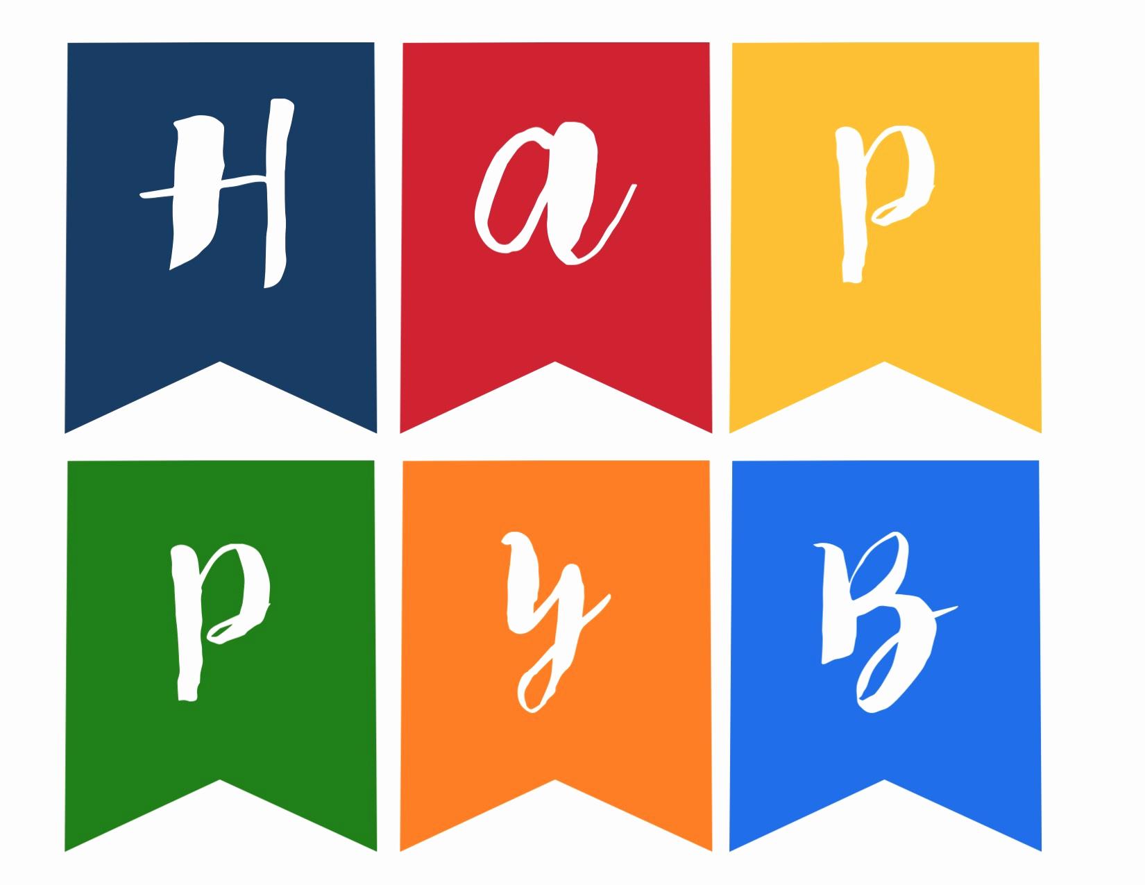 Free Printable Banner Templates Elegant Happy Birthday Banner Free Printable Paper Trail Design