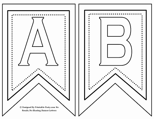 Free Printable Banner Templates Fresh Free Printable Banner Letters A Z 0 9 Th St Rd Nd