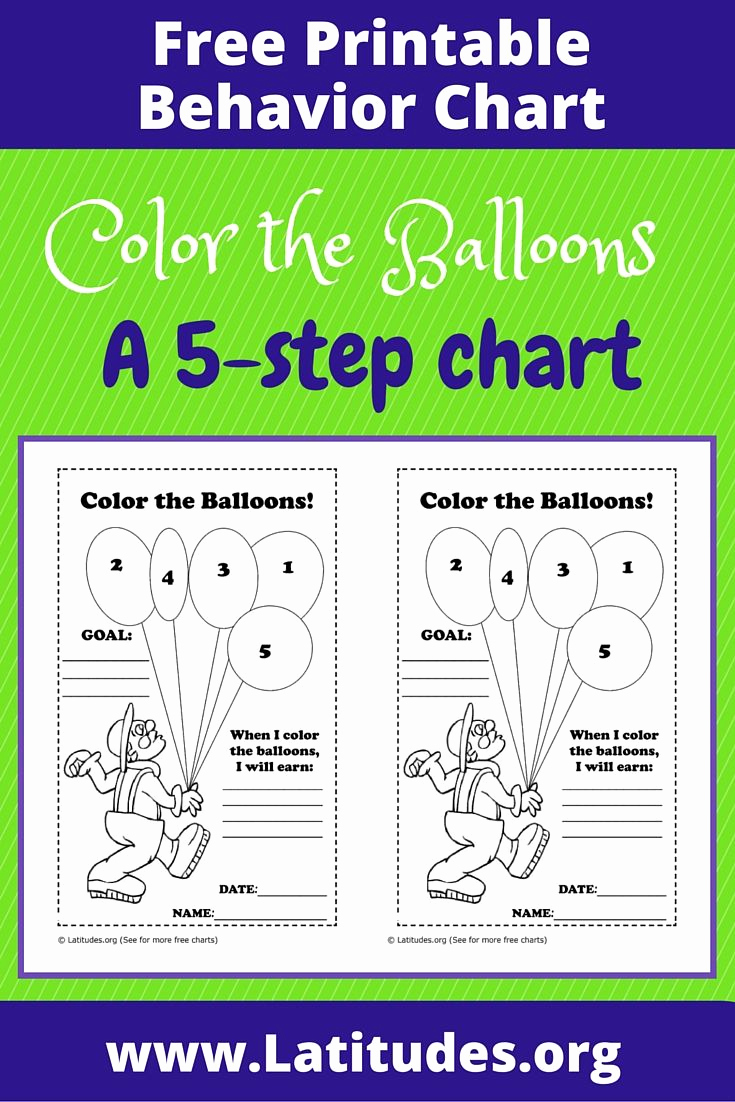 Free Printable Behavior Charts Awesome 2806 Best First Grade Classroom Management Images On