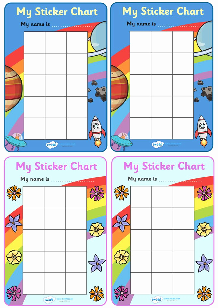 Free Printable Behavior Charts Elegant Best 25 Sticker Chart Ideas On Pinterest