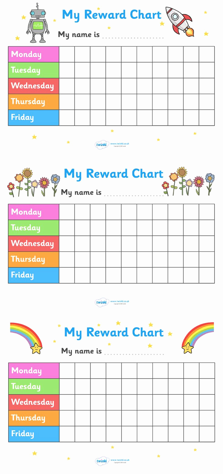 Free Printable Behavior Charts Luxury Rewards Chart Stickers and Stamps On Pinterest