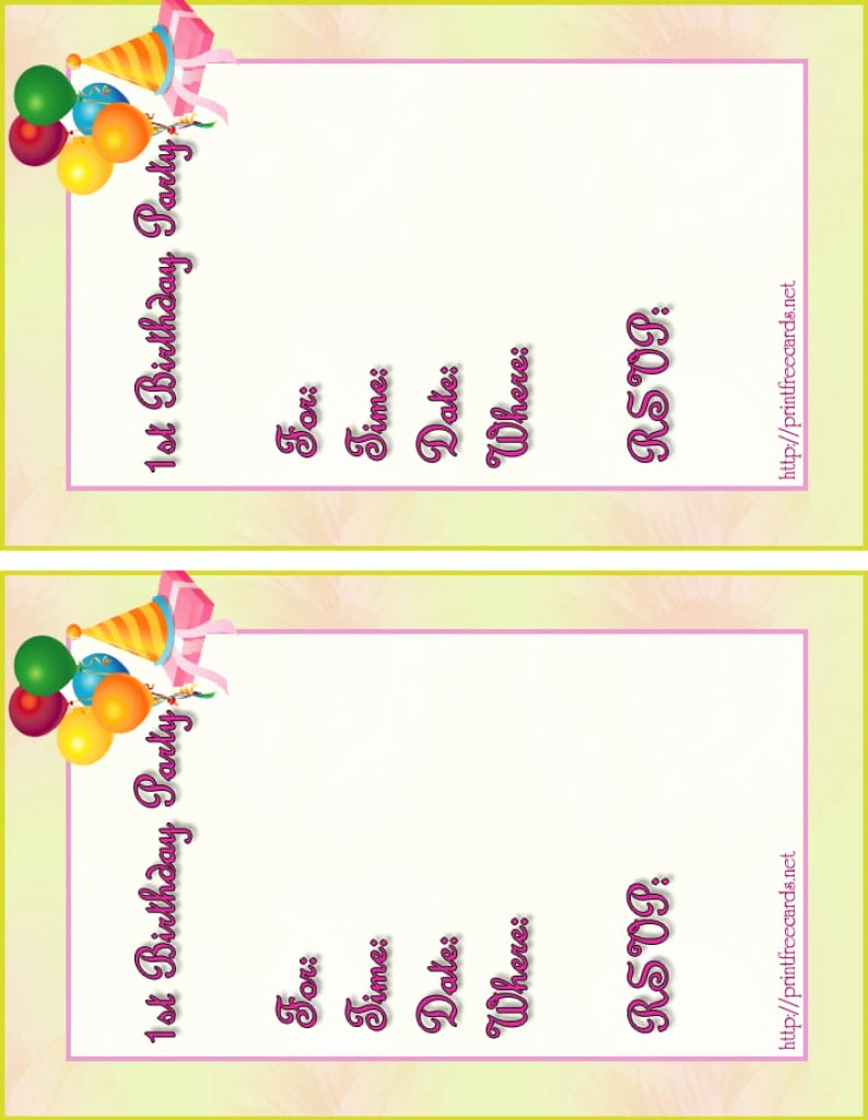 Free Printable Birthday Invitation Templates Awesome Free Printable Kids Birthday Pool Party Invitations