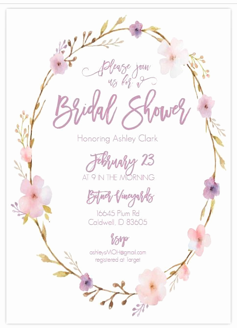 Free Printable Bridal Shower Invitations Beautiful 13 Bridal Shower Templates that You Won T Believe are Free