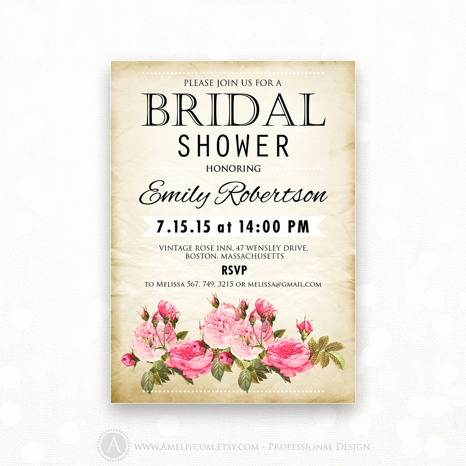Free Printable Bridal Shower Invitations Best Of Printable Bridal Shower Invitation Retro Invite Shower the
