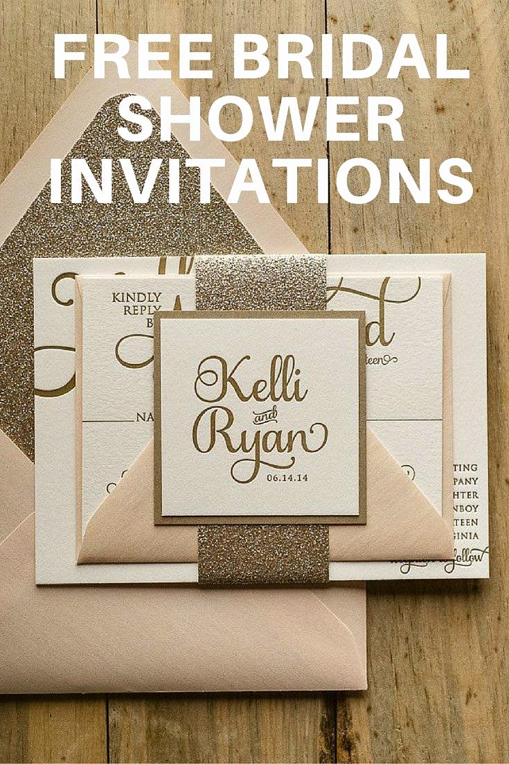 Free Printable Bridal Shower Invitations Fresh Team Wedding Blog Free Bridal Shower Invitations