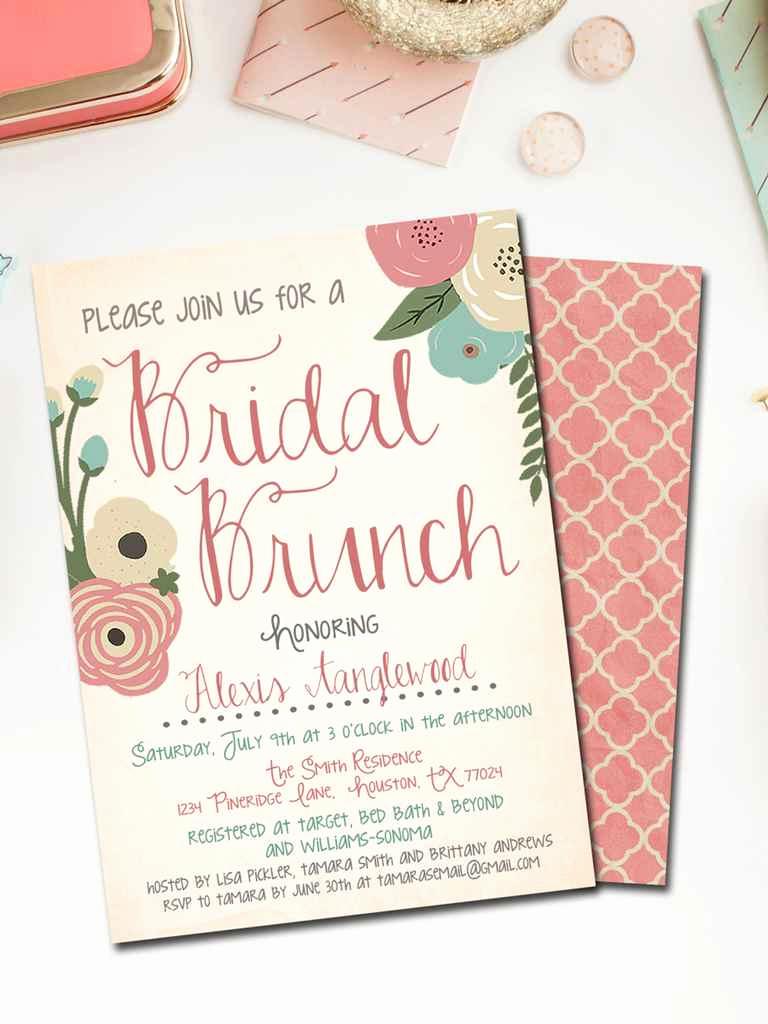 Free Printable Bridal Shower Invitations Inspirational Printable Bridal Shower Invitations You Can Diy