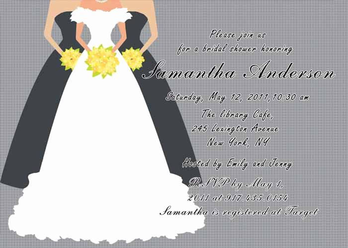 Free Printable Bridal Shower Invitations Inspirational Printable Grey Bridal Shower Invitation Cards Ewbs019 as