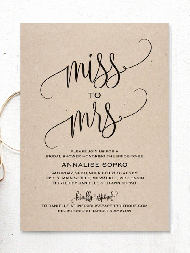 Free Printable Bridal Shower Invitations New Best 25 Bridal Shower Invitations Ideas On Pinterest