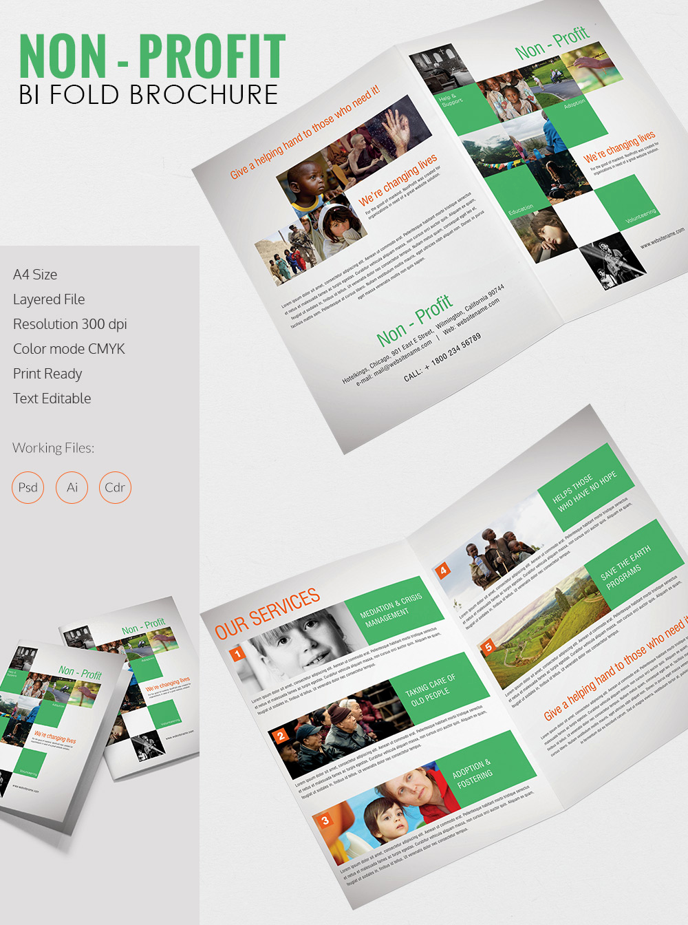 Free Printable Brochure Templates Best Of Printable Bi Fold Brochure Template – 67 Free Word Psd