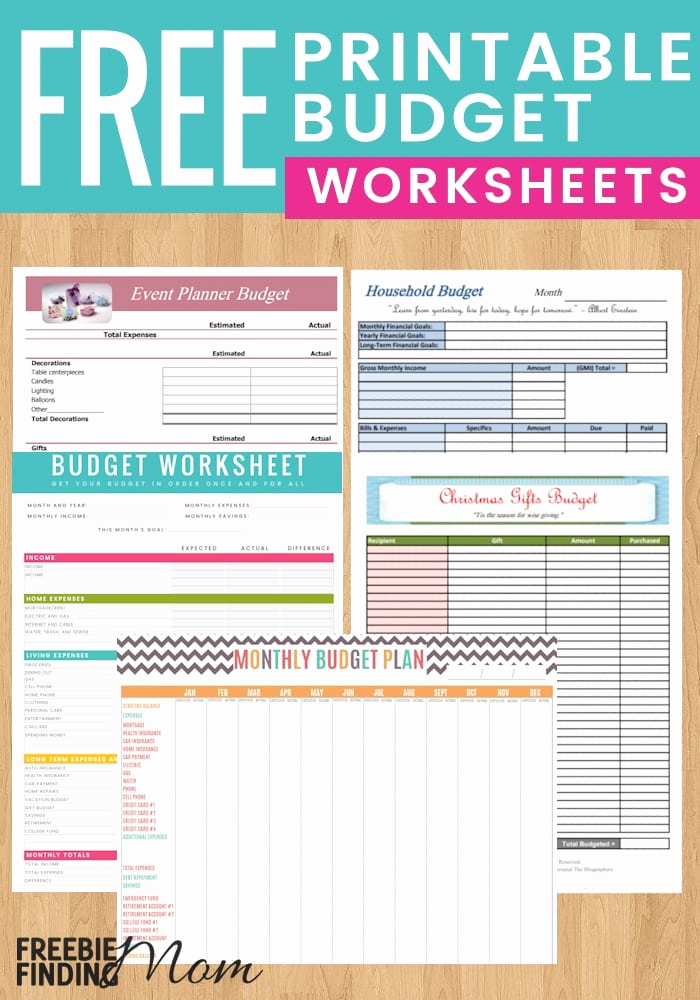 Free Printable Budget Templates Unique 5 Reasons to Use Free Printable Bud Worksheet Templates