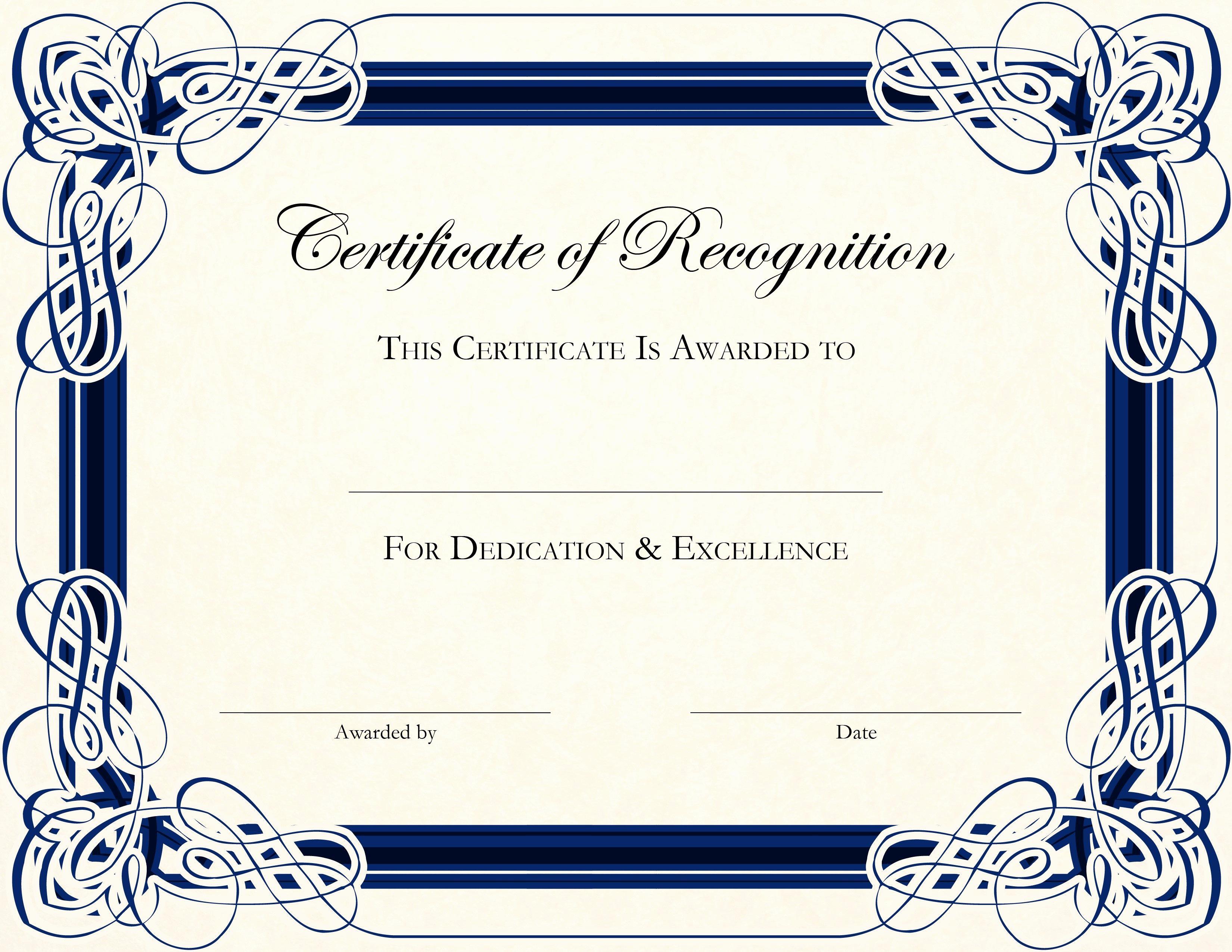 Free Printable Certificate Templates Fresh Free Printable Certificate Templates for Teachers