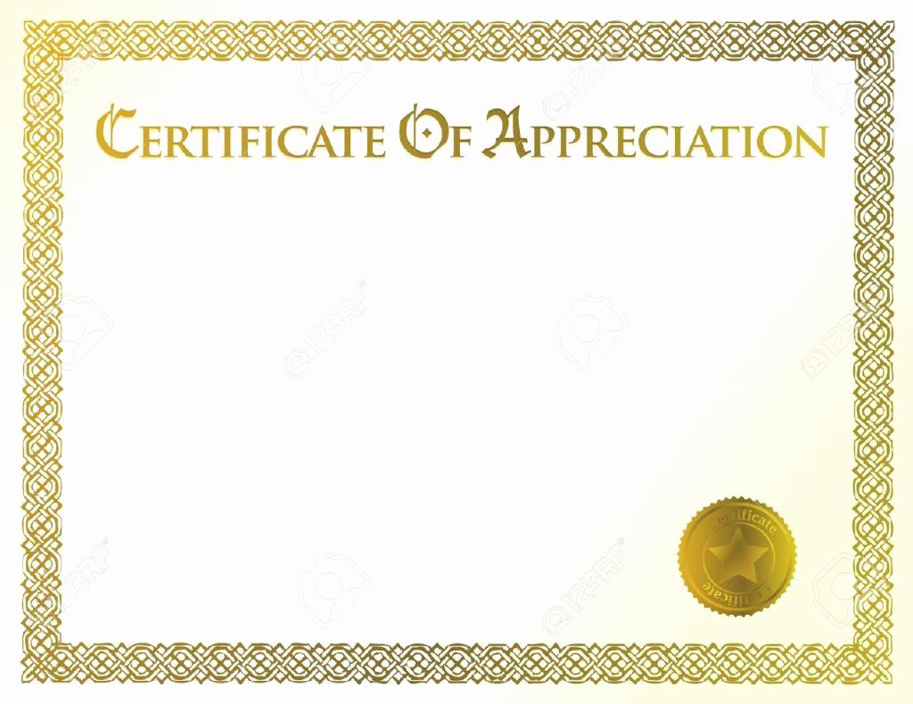 Free Printable Certificate Templates Luxury 43 formal and Informal Editable Certificate Template
