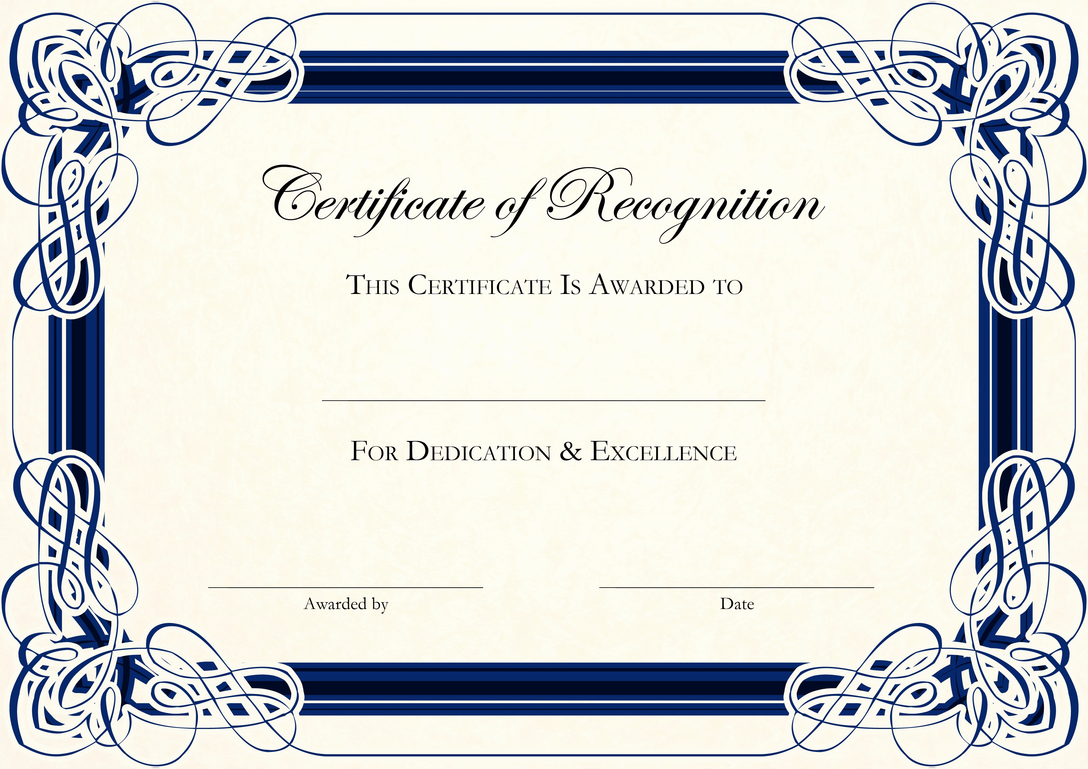 Free Printable Certificate Templates New Free Certificate Templates for Word
