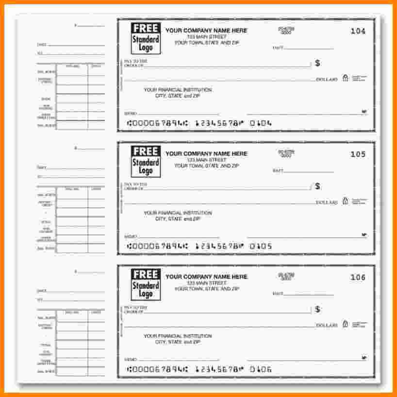 Free Printable Check Stubs Lovely 6 Printable Paycheck Template