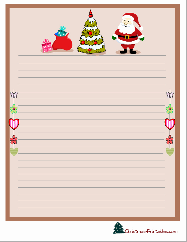 Free Printable Christmas Paper Awesome Free Printable Christmas Stationery