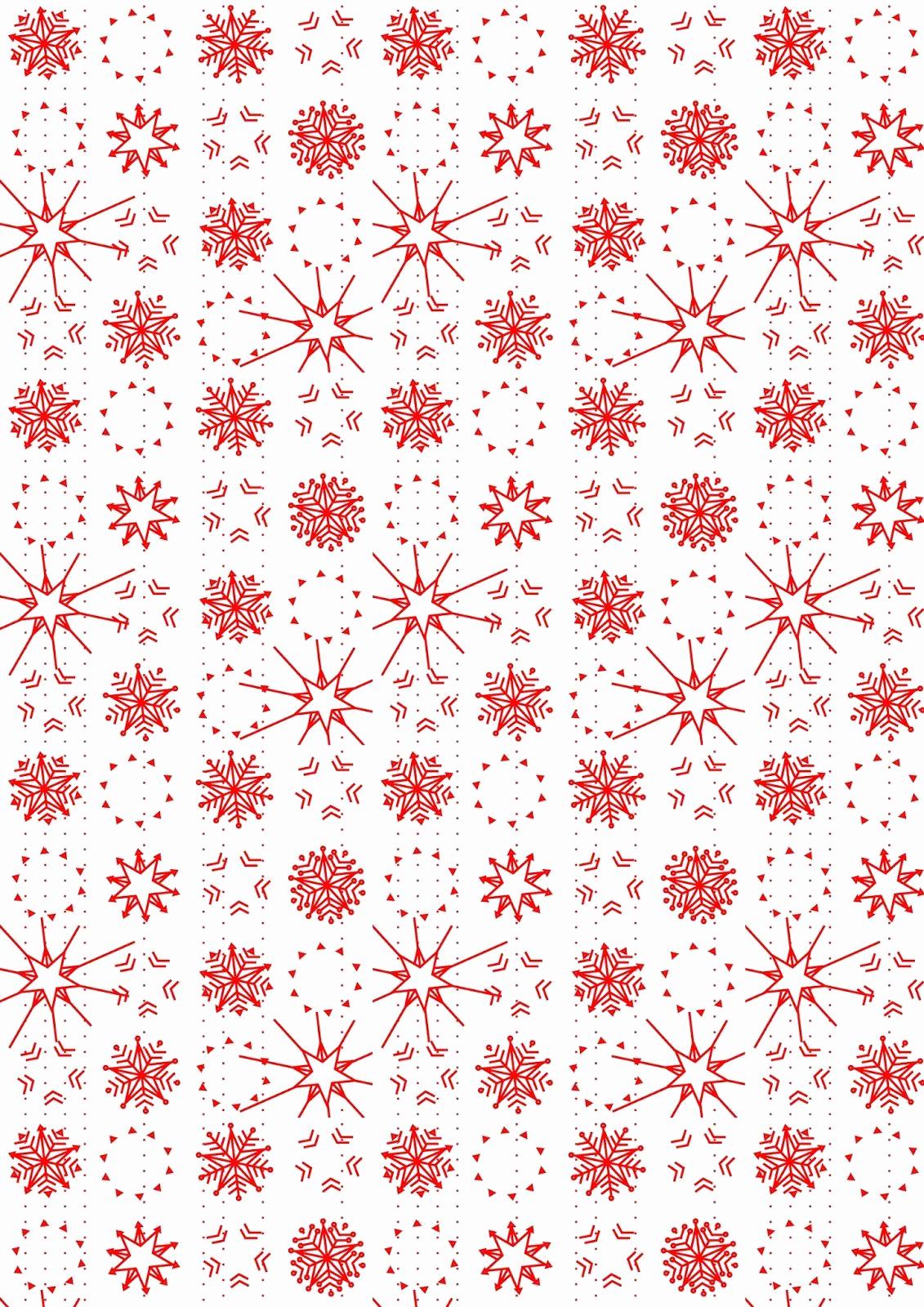 Free Printable Christmas Paper Fresh Free Printable Snowflake Pattern Paper Christmas