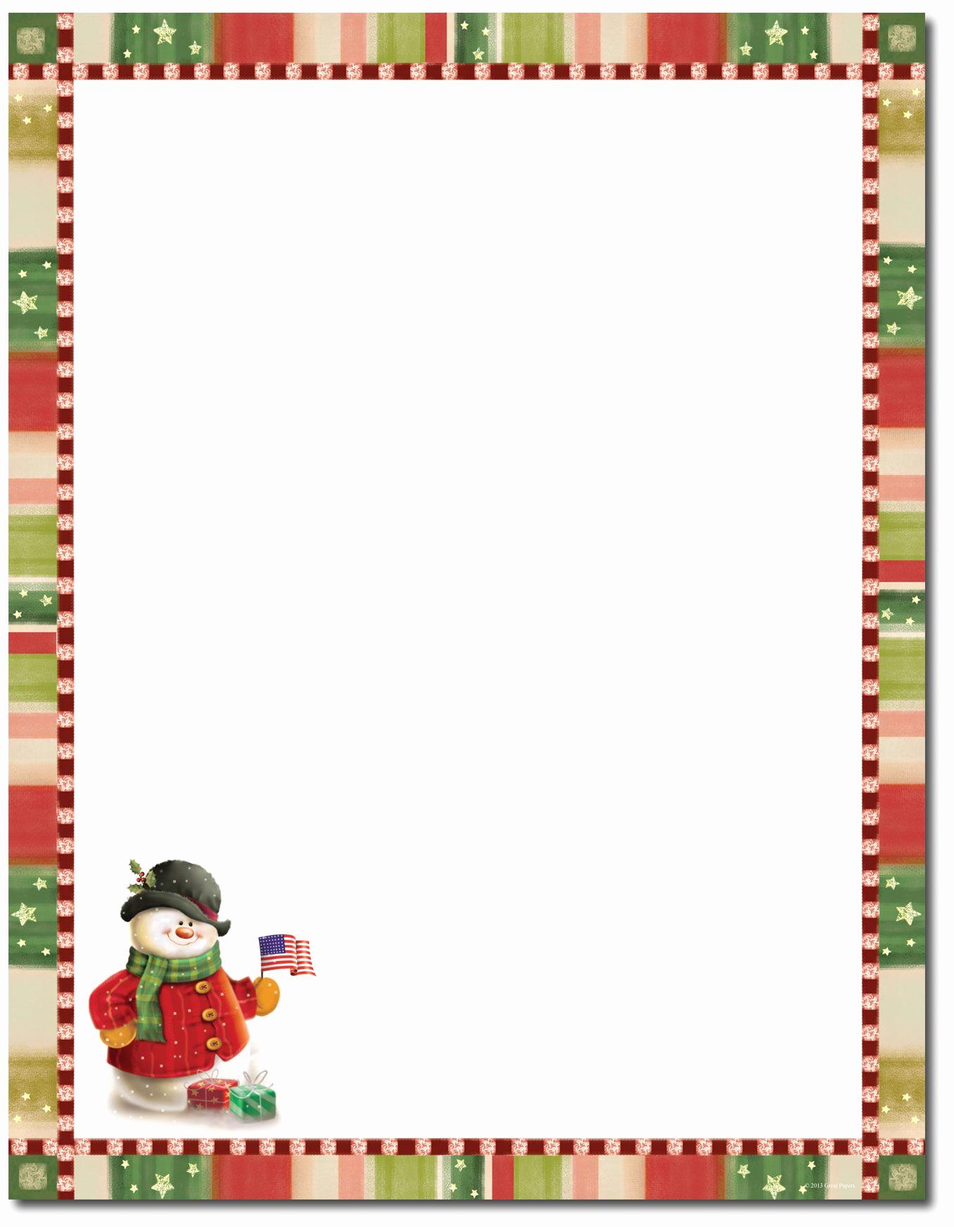Free Printable Christmas Paper Inspirational Christmas Stationery