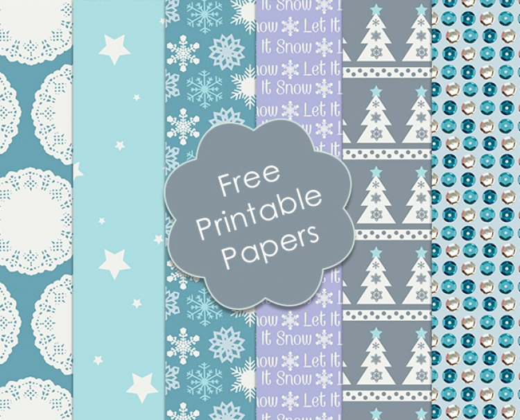 Free Printable Christmas Paper Unique Free Trimcraft Printable Christmas