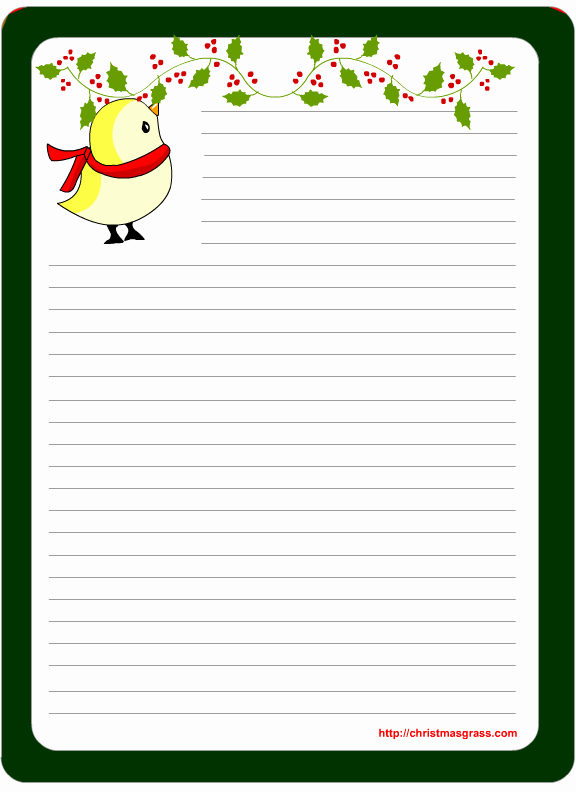 Free Printable Christmas Stationery Paper Awesome Free Printable Christmas and Holiday Stationery