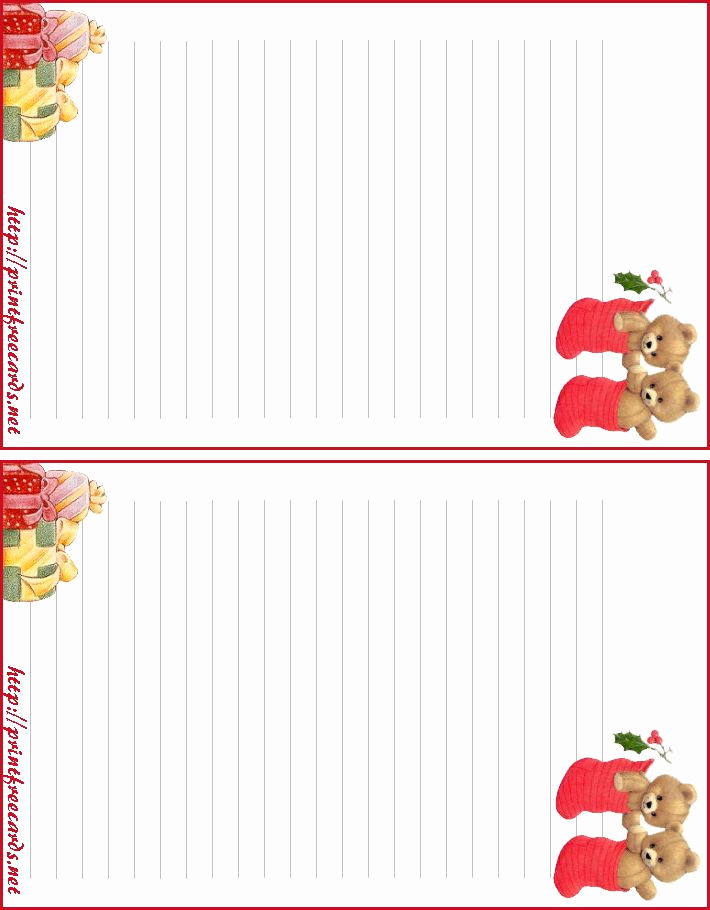 Free Printable Christmas Stationery Paper Best Of 75 Best Borders Stationary Holidays Images On Pinterest