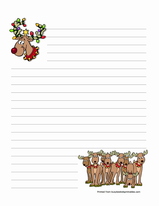 Free Printable Christmas Stationery Paper Best Of 76 Free Christmas Stationery and Letterheads