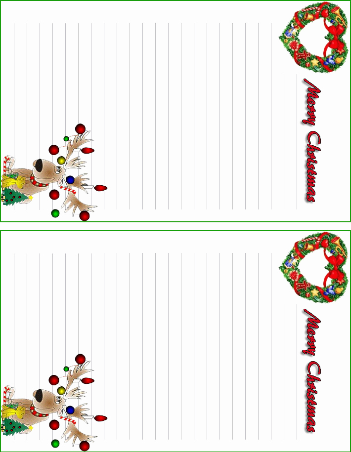 Free Printable Christmas Stationery Paper Best Of Free Printable Christmas Letterhead Teachers and Students