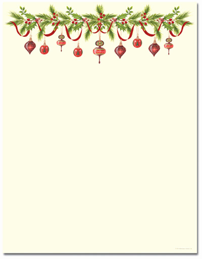 Free Printable Christmas Stationery Paper Inspirational Christmas Stationery Printer Paper