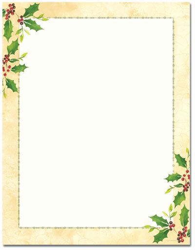 Free Printable Christmas Stationery Paper Luxury Printable Christmas Letterhead Stationery Blank Designer