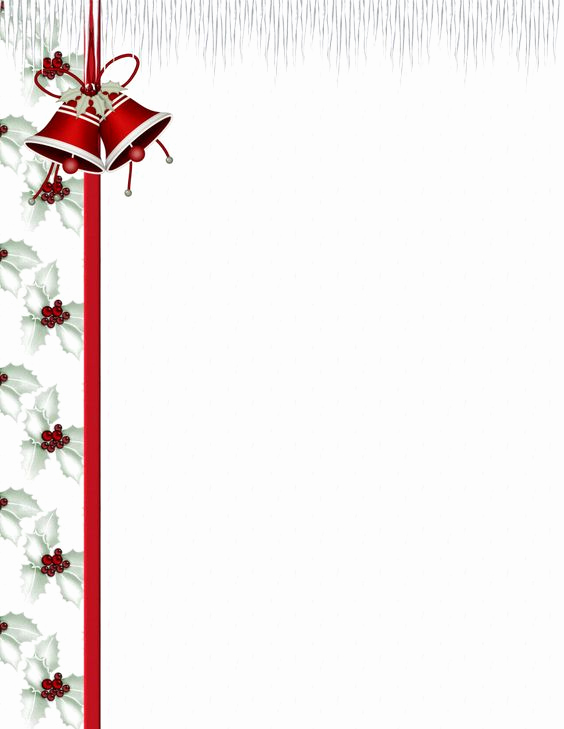Free Printable Christmas Stationery Paper New Christmas Stationery Stationery Templates and Stationery