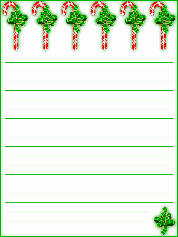 Free Printable Christmas Stationery Paper New Free Printable Lined Christmas Stationery Holiday Money