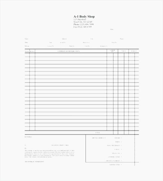 Free Printable Contractor Bid forms Unique 40 Gargantuan Free Printable Contractor Bid forms