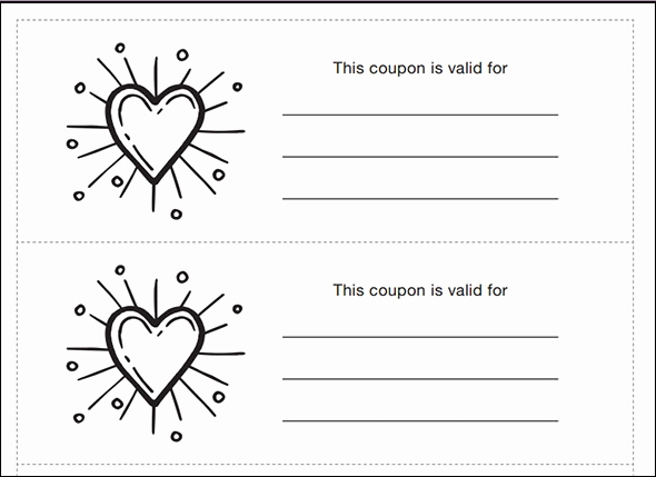 Free Printable Coupon Templates Best Of 40 Printable Coupon Design Templates Psd Ai Word