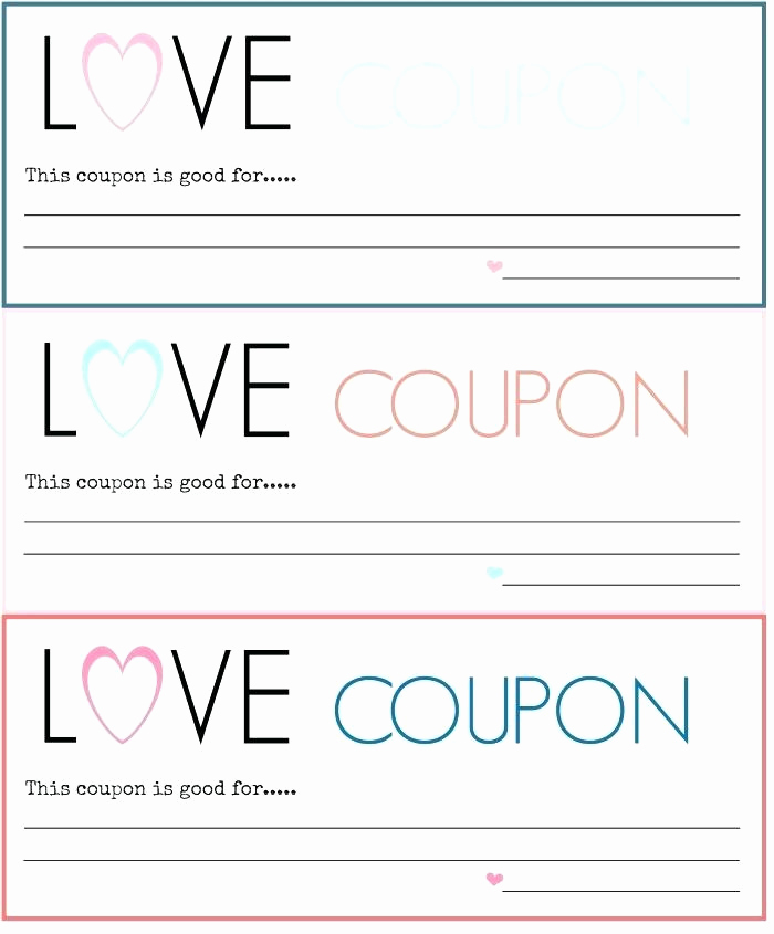 Free Printable Coupon Templates Elegant Free Coupon Template – Free Small Business Coupon