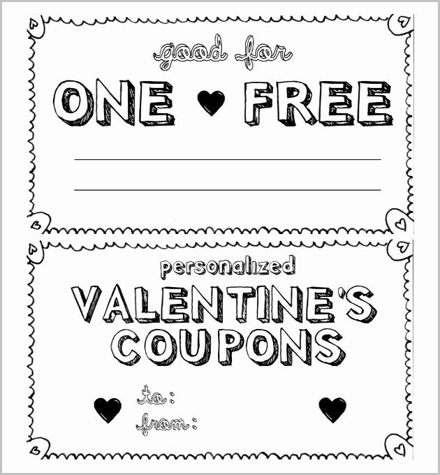 Free Printable Coupon Templates New 28 Homemade Coupon Templates – Free Sample Example