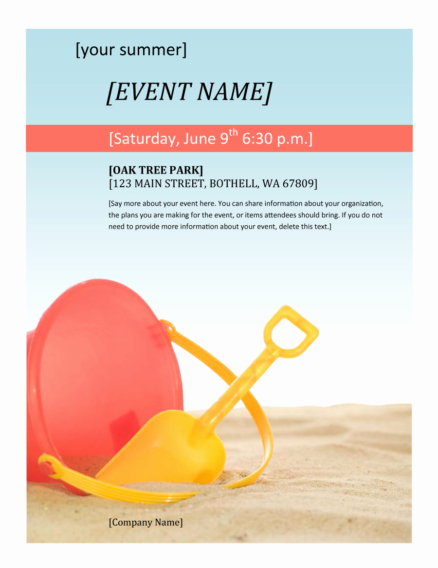 Free Printable event Flyer Templates Beautiful 41 Amazing Free Flyer Templates [event Party Business