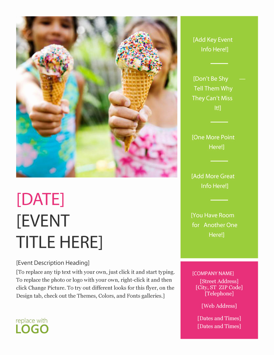 Free Printable event Flyer Templates Fresh 41 Amazing Free Flyer Templates [event Party Business