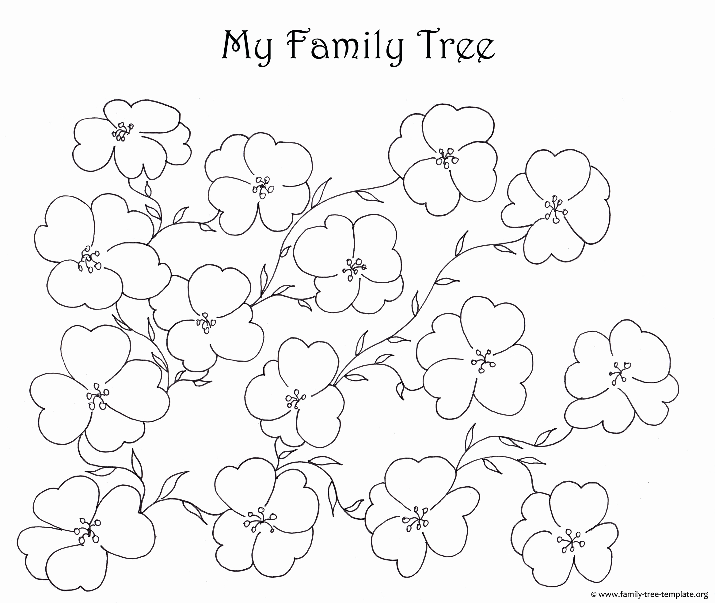 Free Printable Family Tree Awesome Make A Family Tree Easily with these Free Ancestry Charts