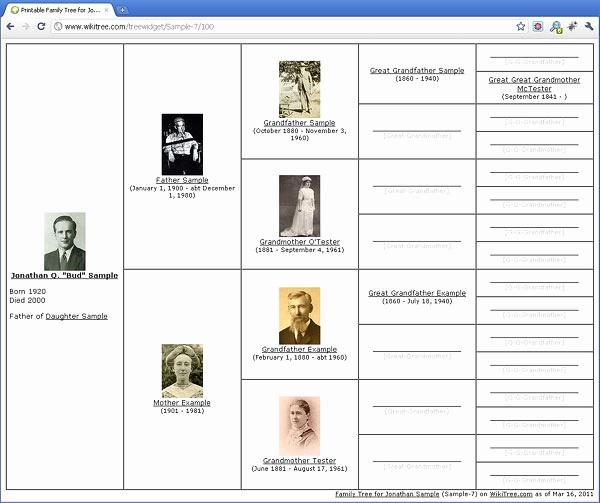 Free Printable Family Tree Unique Free Printable Family Tree Diagrams