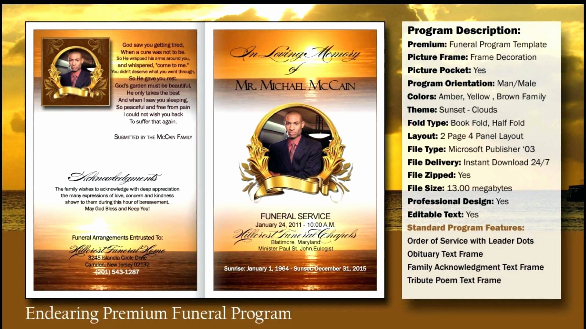 Free Printable Funeral Program Template Awesome Obituary Template forms Printable Programs Vlogger Faire