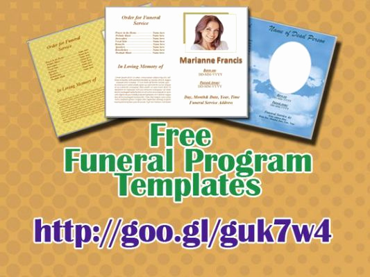 Free Printable Funeral Program Template Inspirational 74 Best Funeral Program Templates for Ms Word to Download