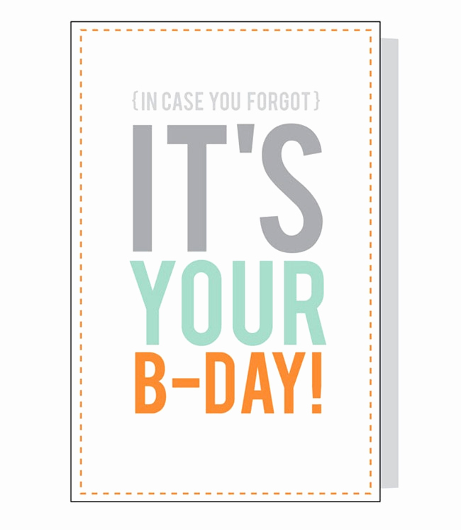 Free Printable Funny Birthday Cards Awesome 8 Free Birthday Card Printables
