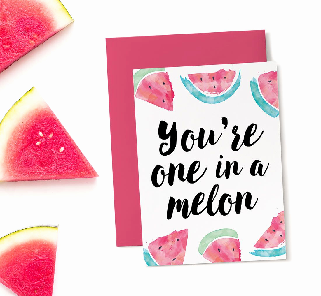 Free Printable Funny Birthday Cards Elegant Printable Birthday Card E In A Melon