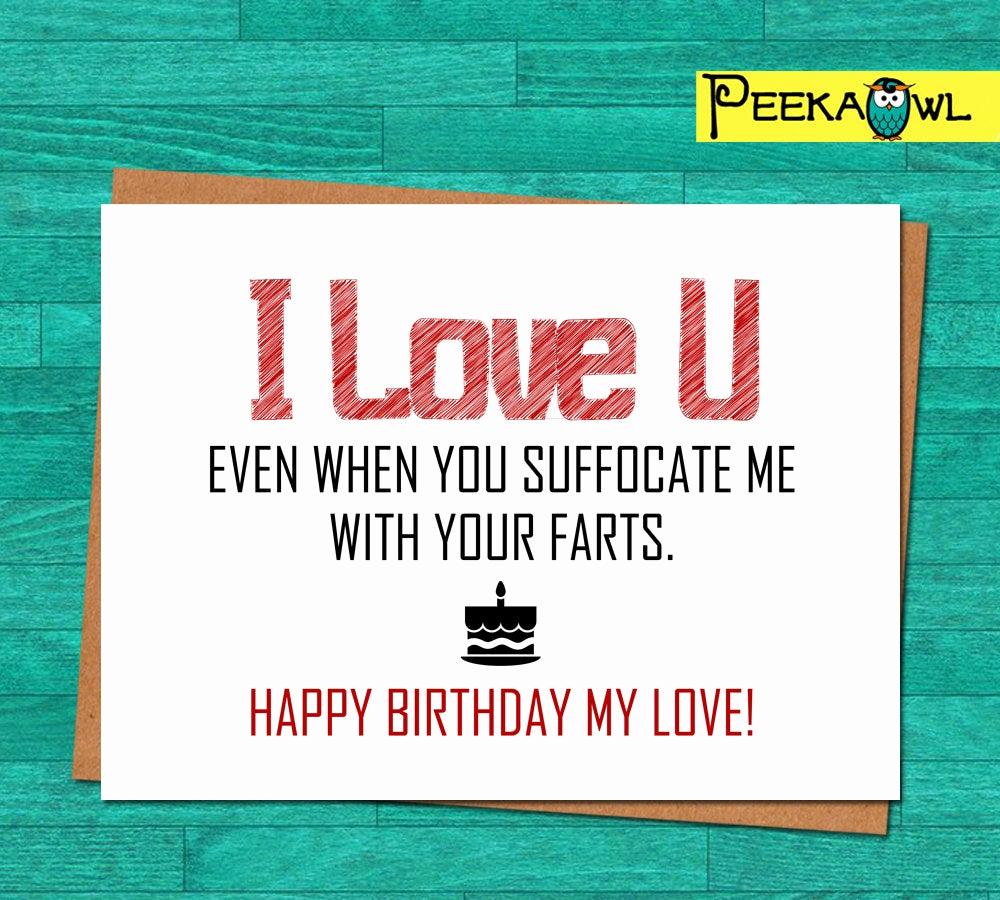 Free Printable Funny Birthday Cards Fresh Instant Download Funny Birthday Card Boyfriend Husband