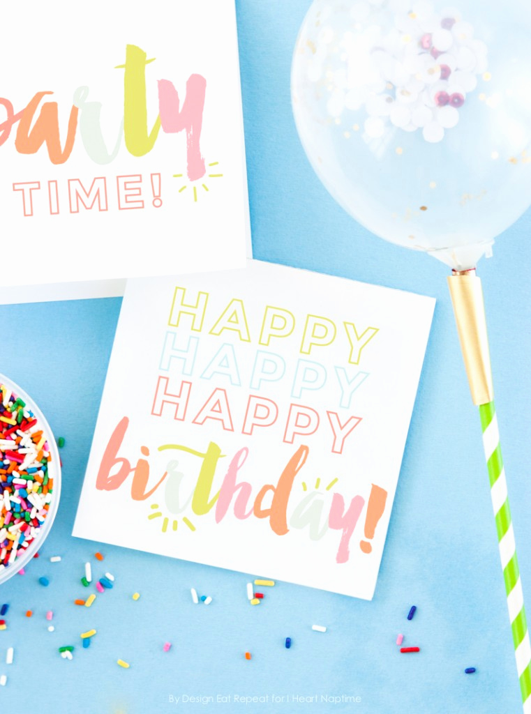 Free Printable Funny Birthday Cards Unique Free Birthday Printables Eighteen25