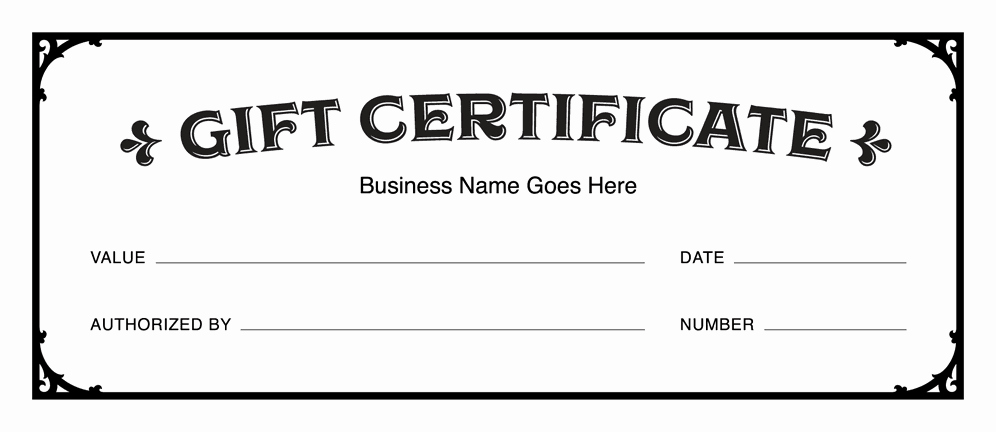 Free Printable Gift Certificate Templates Beautiful Gift Certificate Templates Download Free Gift